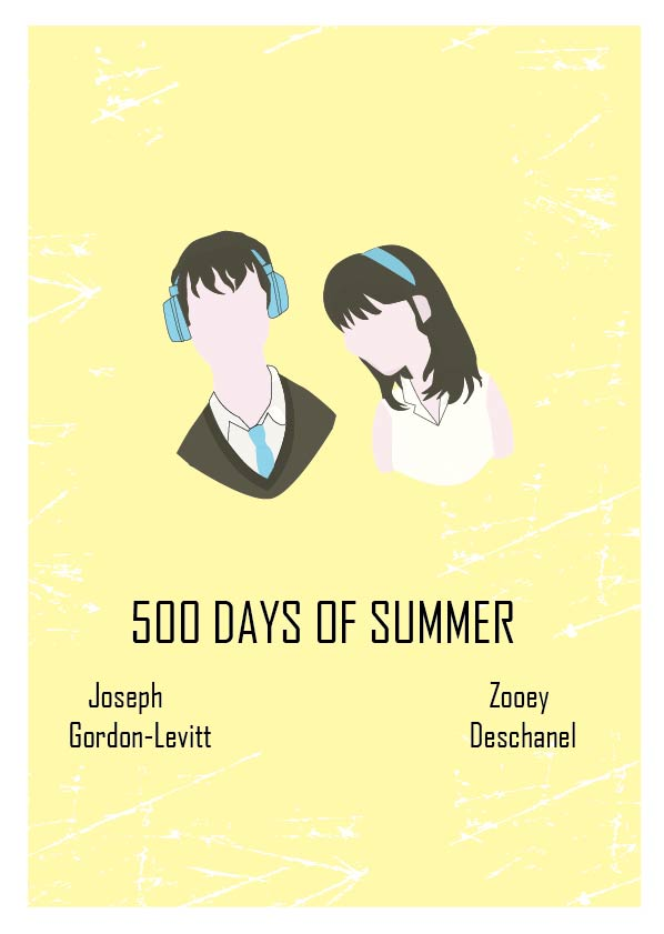 500 Days of Summer by normal-art on DeviantArt