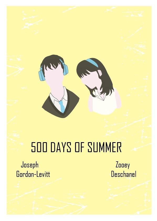 500 Days of Summer by normal-art on DeviantArt