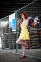 Asuka Yellow Sundress Cosplay - Stay Away by WorstWaifu