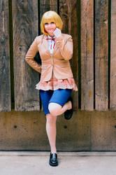 Prison School Cosplay - Secretary Hana Midorikawa by WorstWaifu