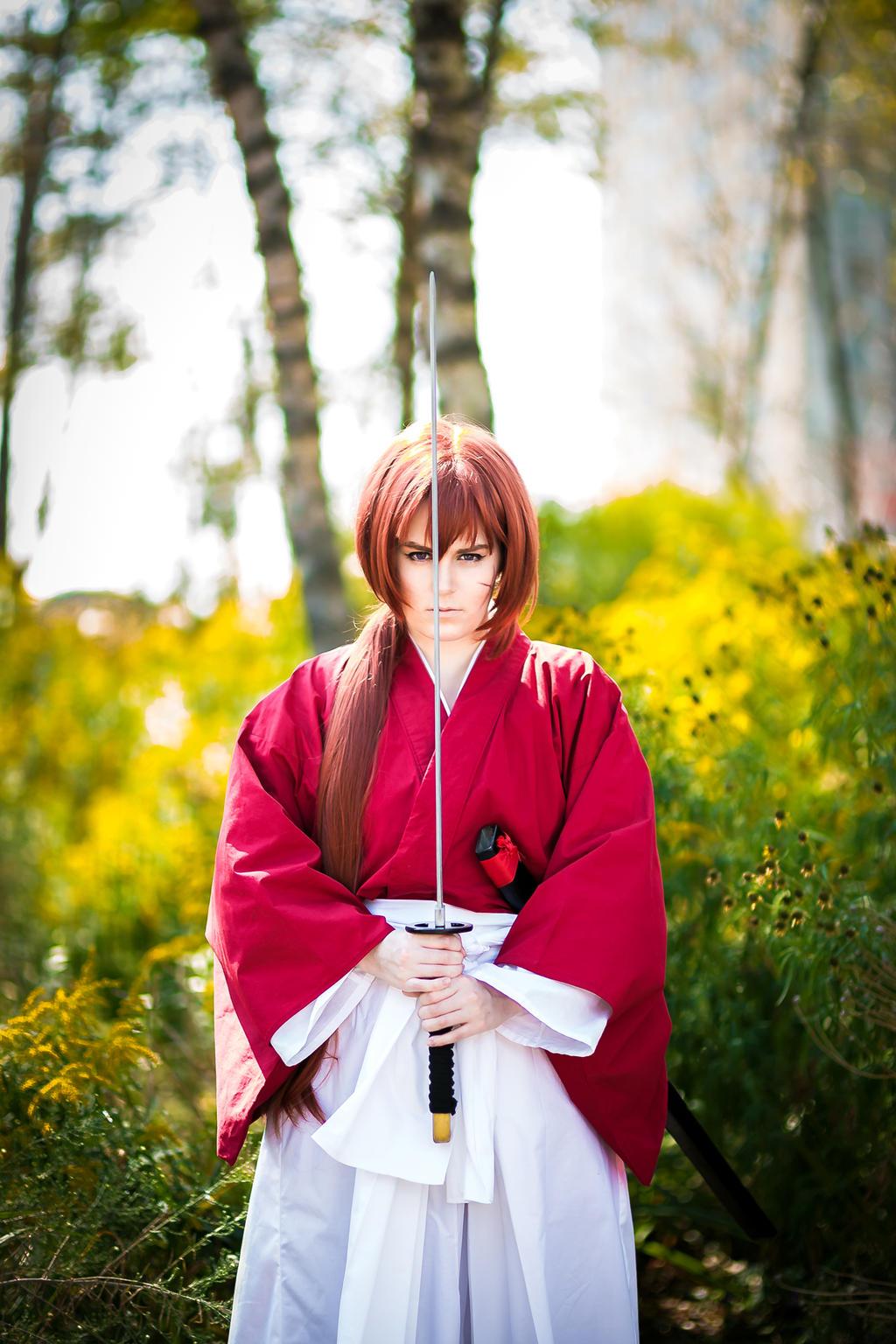 Kenshin Himura Cosplay - Samurai X - Courage by WorstWaifu