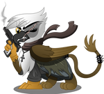 Gawdyna Grimfeathers (Commission)