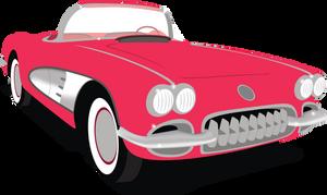 50s Chevrolet Corvette