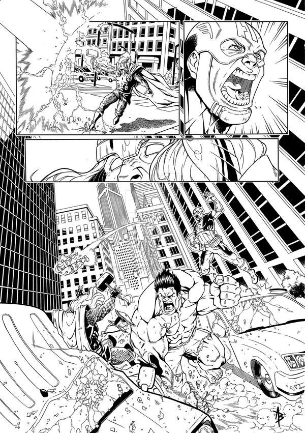 Avengers3 by Baldobaldari
