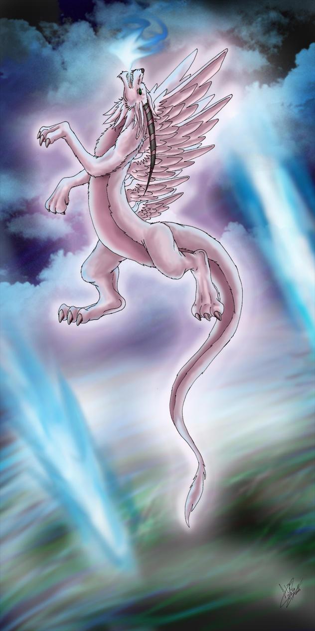 Holy dragon of chaos by Kiminuria