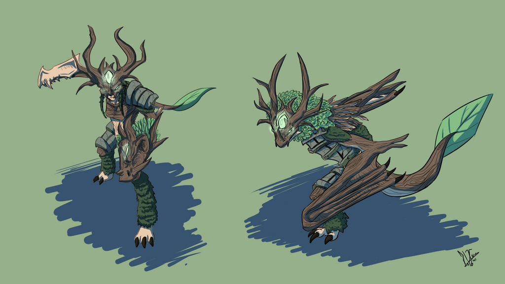 Elderwood Shyvana by Kiminuria
