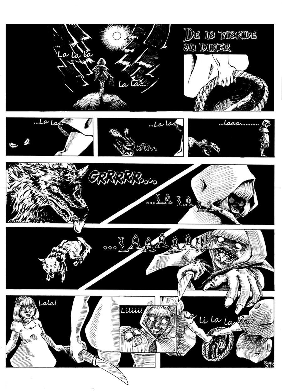 De la viande au diner by Kami-Illustration