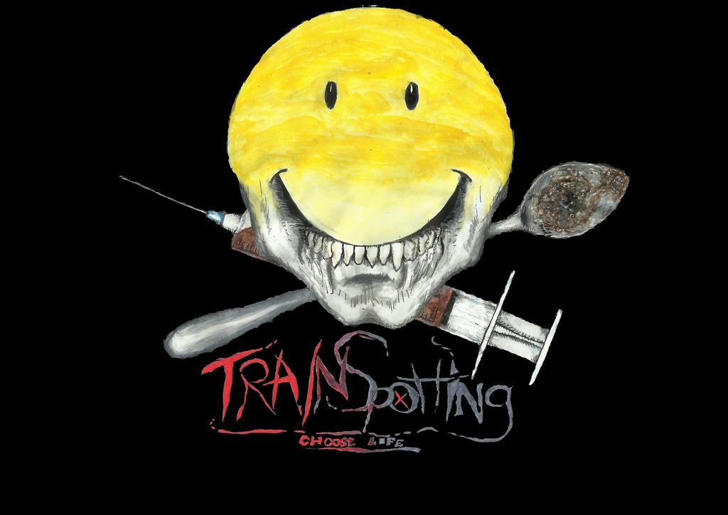 Trainspotting logo by metal-kiwi