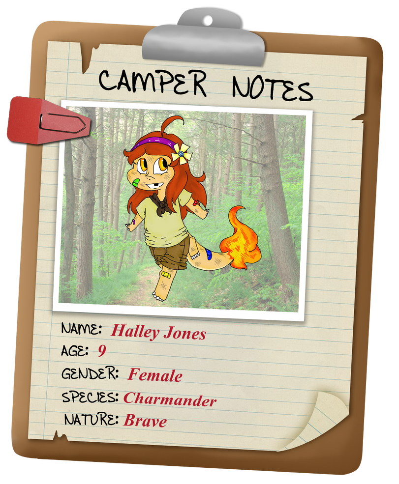 Camp Clement- Halley Jones by Whitewing16