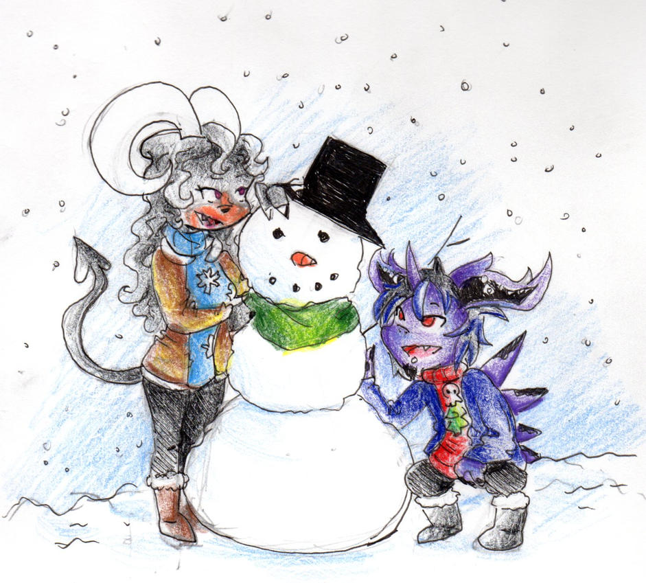 Armonia SS: Do You Want To Build A Snowman by Whitewing16