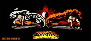 Avatar :air and fire by Rinoaxyzriana