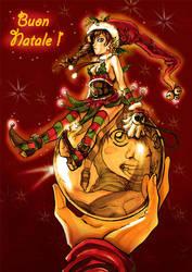 Christmas contest 2009 by Rinoaxyzriana