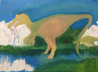 Baryonyx Walkeri (WIP) by GreenDinosaurSkin
