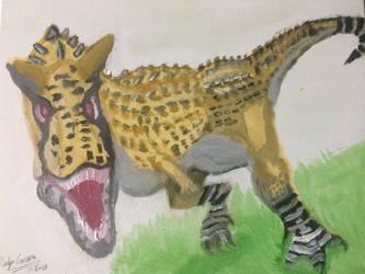 Carnotaurus Sastrei by GreenDinosaurSkin