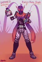Kamen Rider Shade (Sclash Form) -- Commission by MeensArts