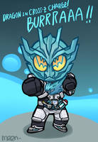 Chibi Kamen Rider Cross-Z Charge by MeensArts