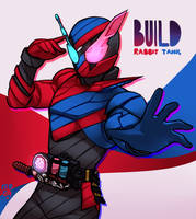 Kamen Rider Build by MeensArts