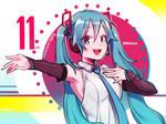 Hatsune Miku's 11th Anniversary!