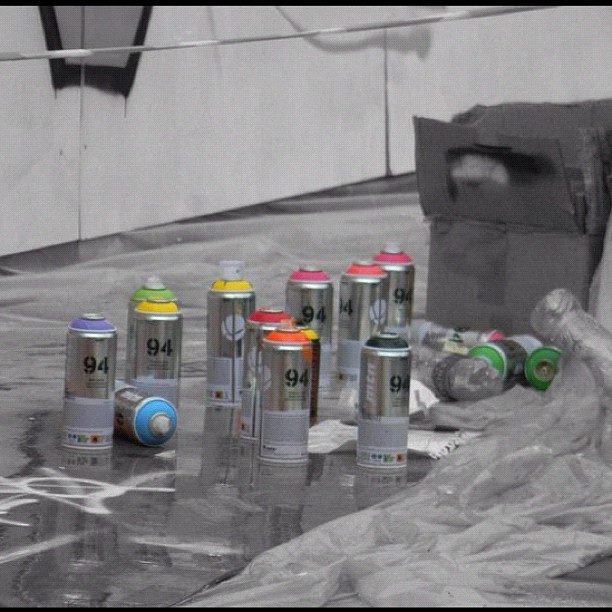 Spray Cans by pixelwhore88