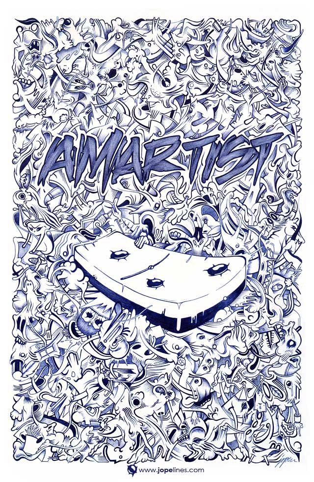 Amartist Magazine Cover by jopelines