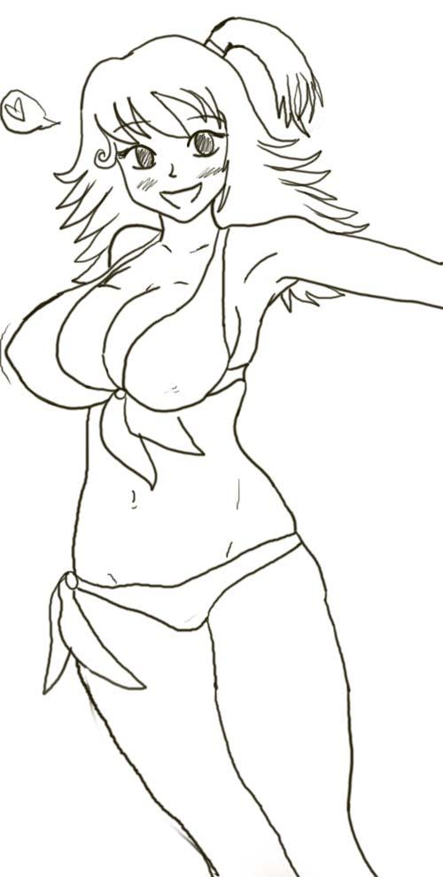 Haha Bikini by Coco-Apple