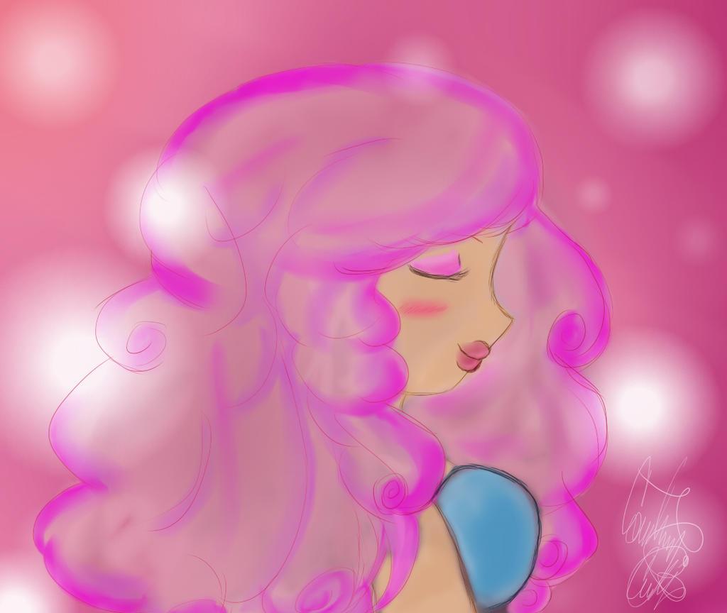 Steven universe rose quartz by coco apple on deviantart - Rose quartz steven universe wallpaper ...