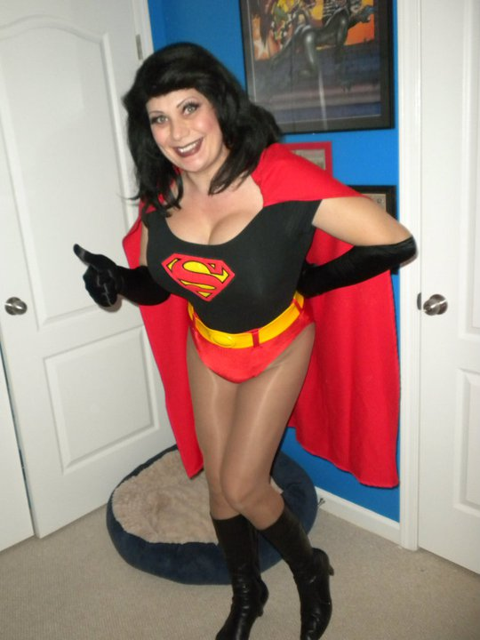 Busty supergirl woman fuckdoll