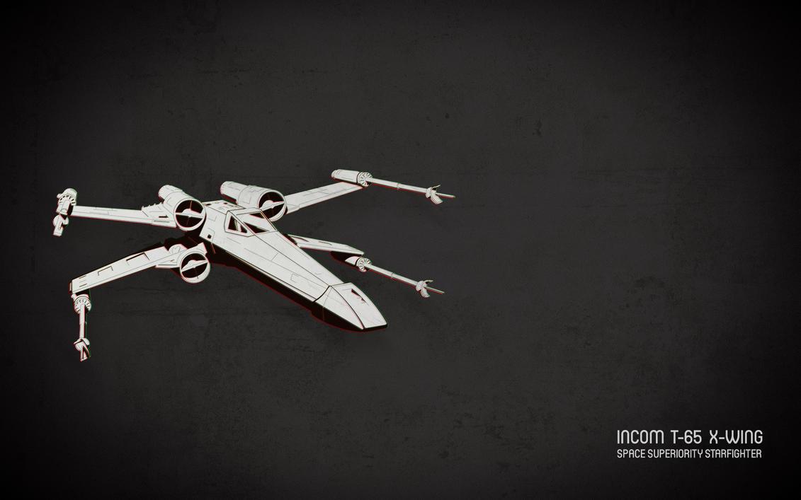 Incom T-65 X-Wing by tetsuwan