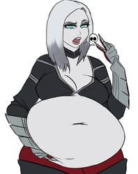 Patreon Drawing: Necromancy Fatty