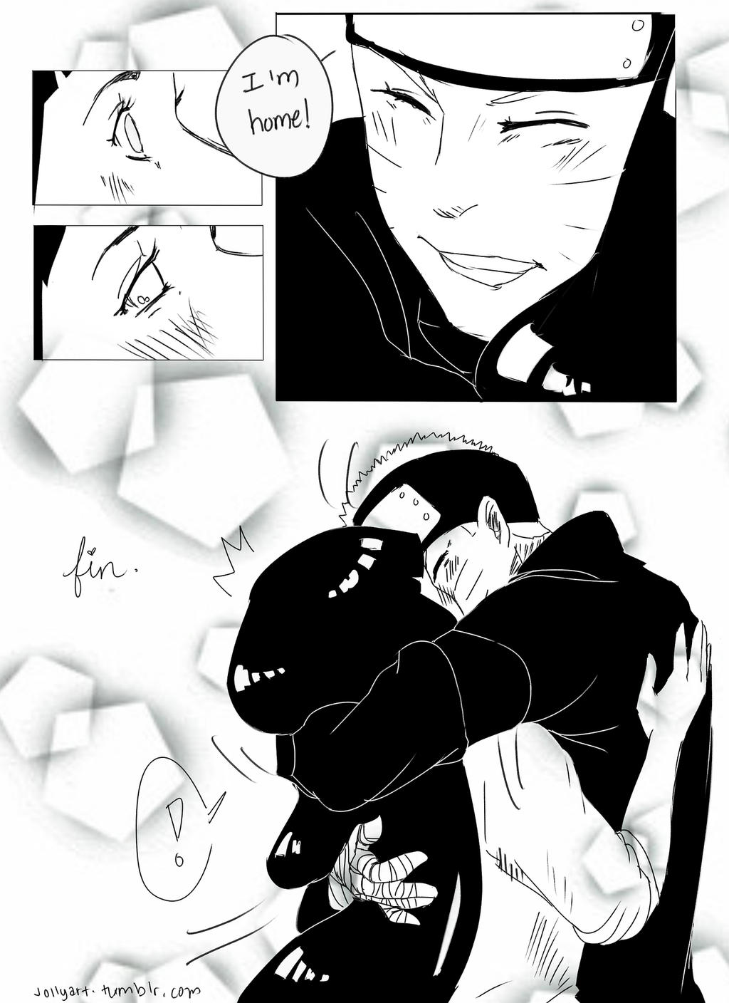 Naruto S First Time Coming Home To His Wife Pg8 By