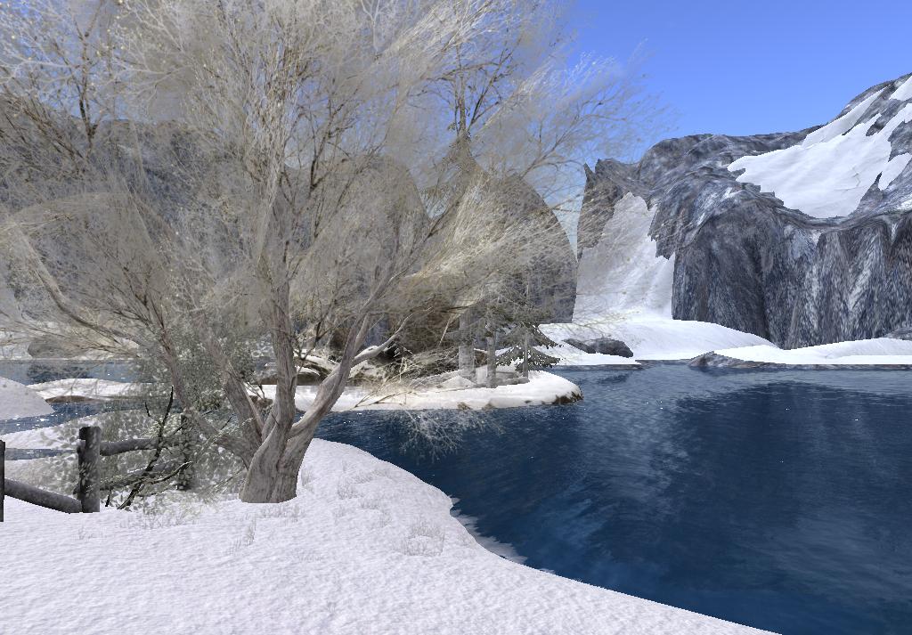 Blue winter by TalieTramontane