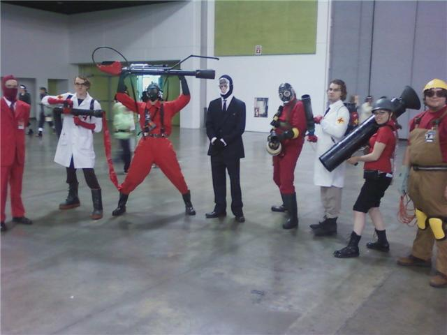 Team Fortress 2 Cosplay by AndurilWielder