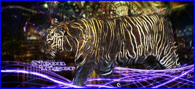 Neon Tiger by Re-written