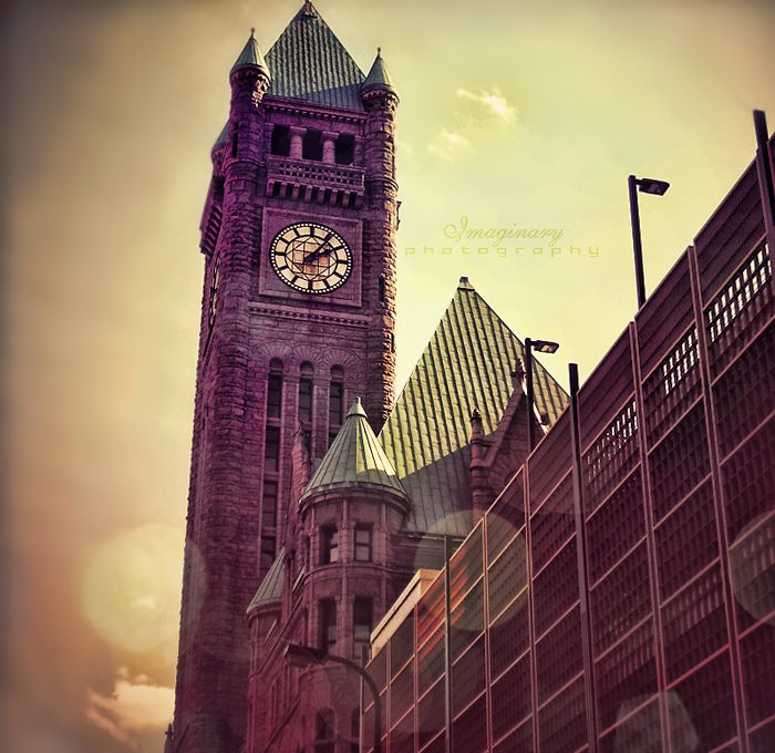 Clock Tower by Imaginary-Night