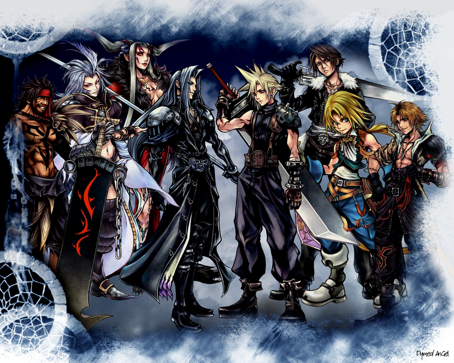 Dissidia FF7-10: Color by DymedAnGel
