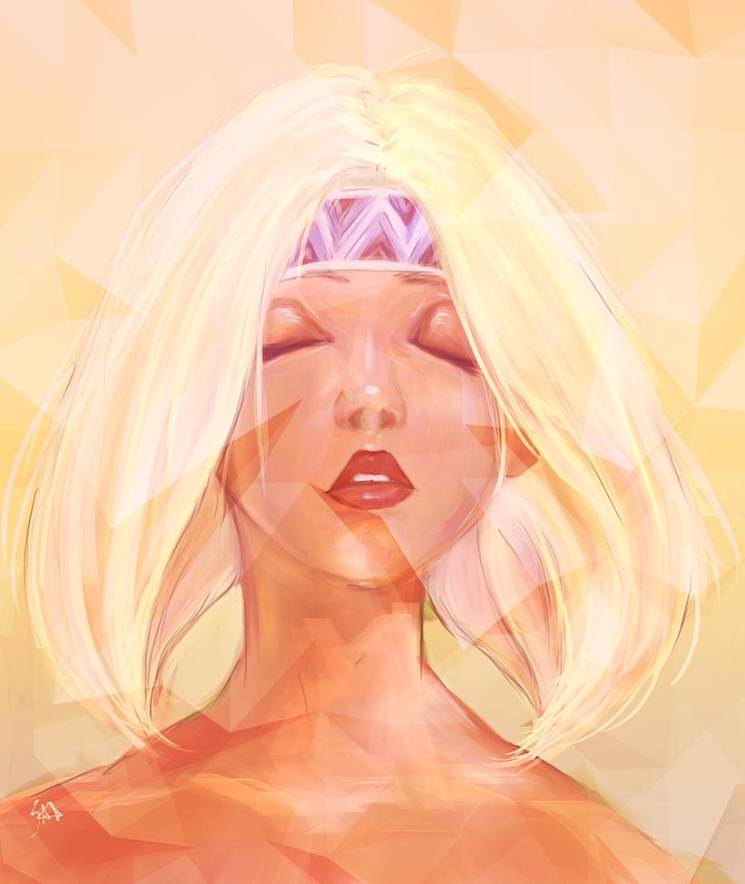Suikoden III - Lucia by DymedAnGel