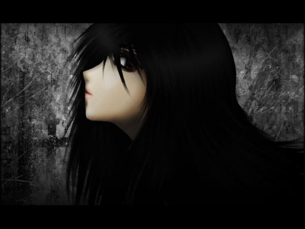 темные аниме картинки: