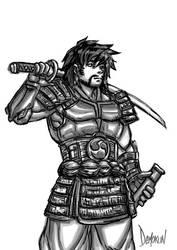 Le Samourai - The Samurai by Demokun54