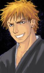 ICHIGO KUROSAKI Rough by Demokun by Demokun54