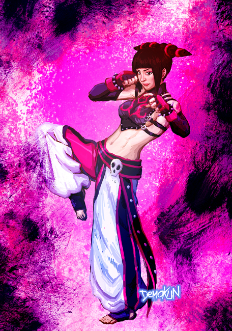 Focused... Juri Han by Demokun by Demokun54