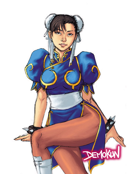 Beautiful Spring A.K.A. Chun Li By Demokun by Demokun54