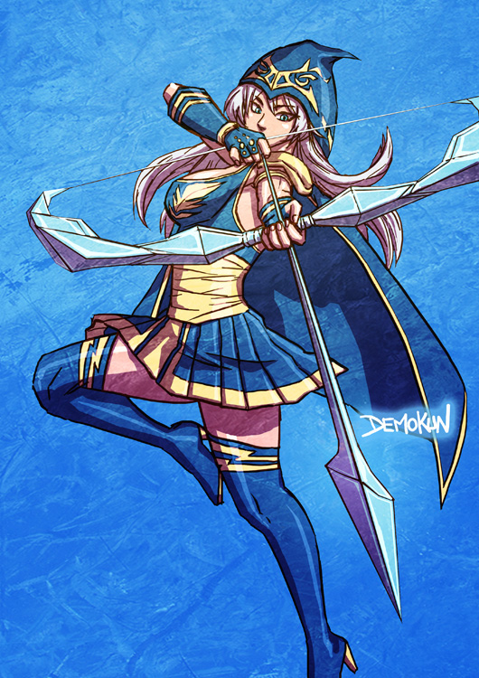 ASHE FROM LOL By Demokun by Demokun54