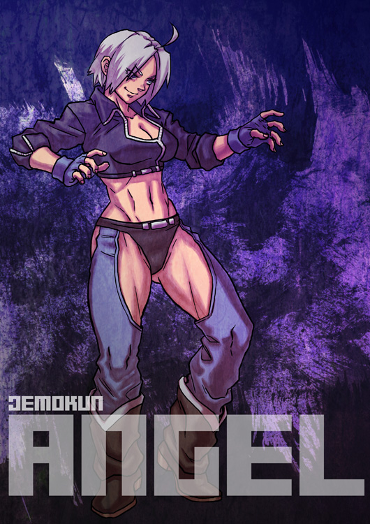 DEADLY LUCHADORA By Demokun by Demokun54