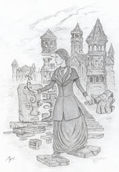 Lucia and the castle