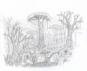 Grey meadows, Morrowind