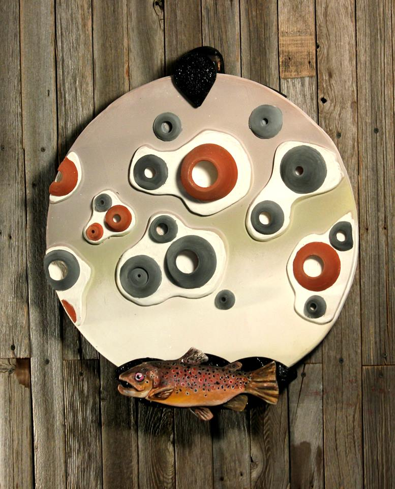 The Nature of Design:  Brown Trout by Evalad