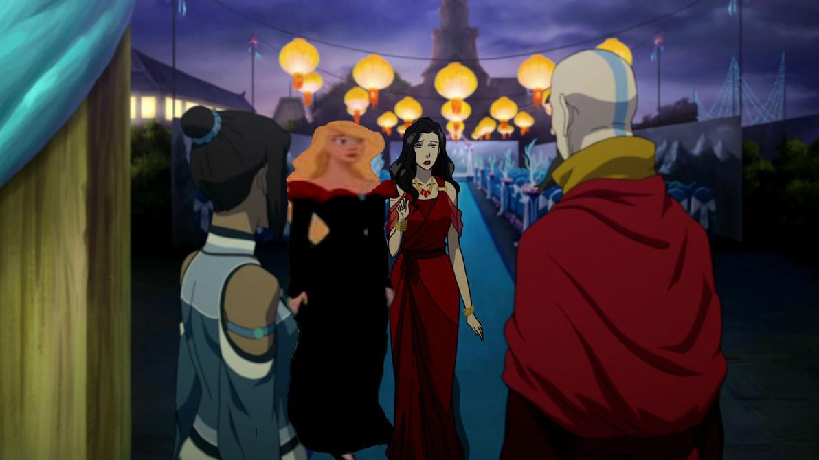 Korra meets Asami's NEW girlfriend (Odette) by AzulaLover1