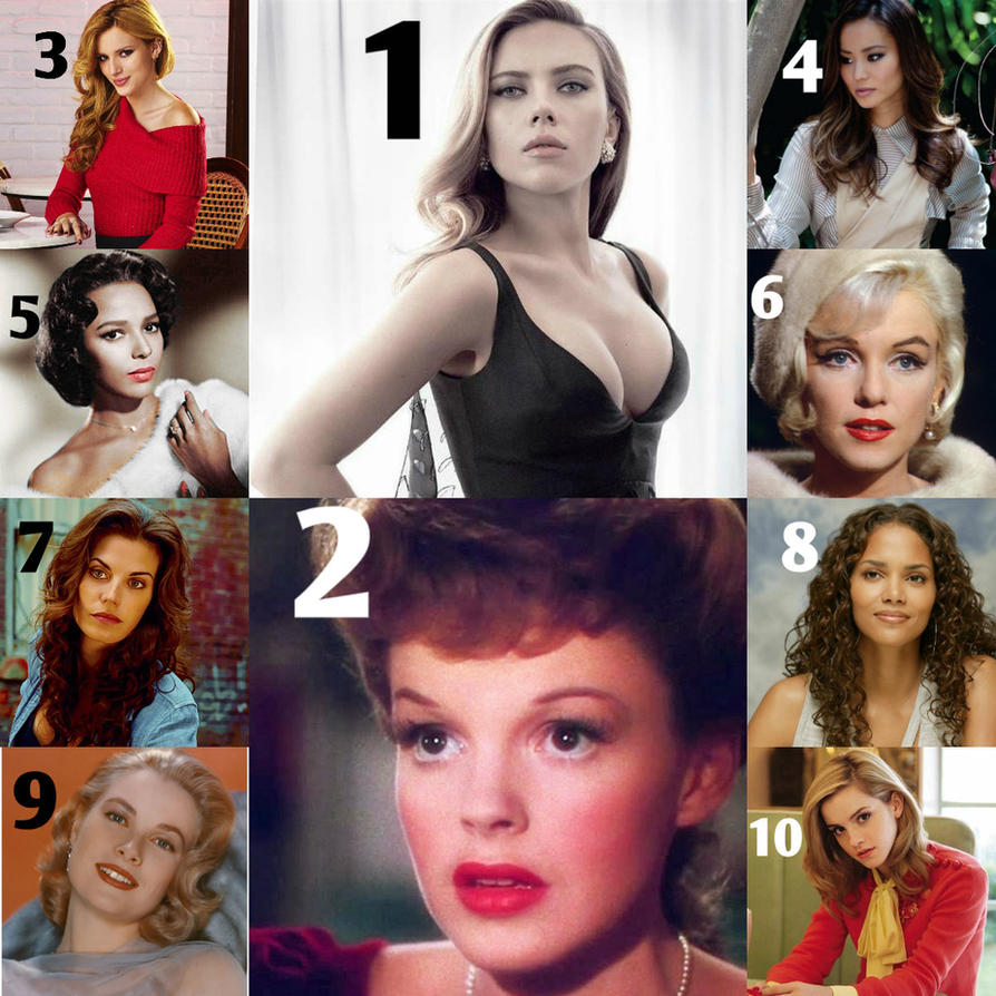 My Top 10 Most Beautiful Women That Ever Lived by AzulaLover1