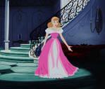 Cinderella's Pink Dress Make-Over
