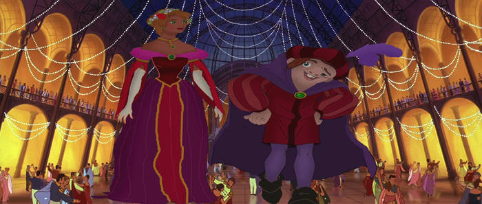 Quasimodo And Madellaine The Hunchback o...